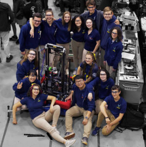 Freshmen Preview Their Role On SCH's Robotics Team 1218